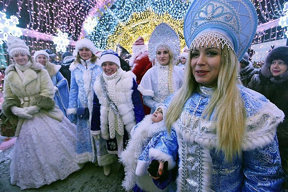 Москва вошла вТОП-5 самых известных новогодних маршрутов вмире