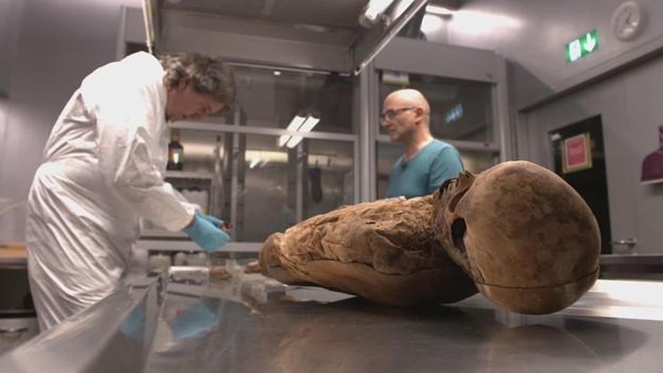 Борис Джонсон оказался правнуком найденной вБазеле мумии
