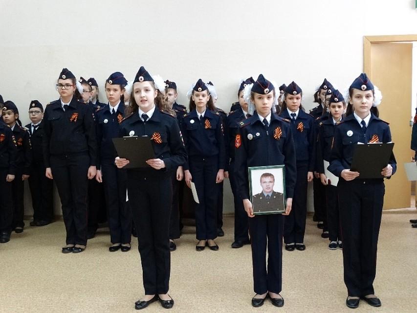 ВВолгограде полицейскому классу присвоено имя старшего сержанта Дмитрия Маковкина