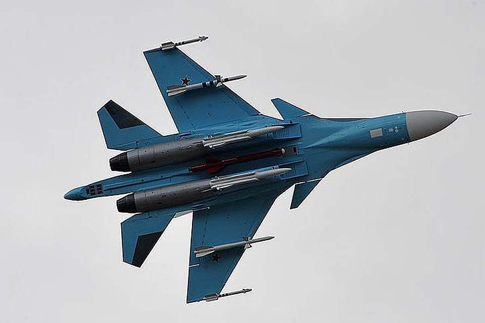 Перехват истребителемРФ самолета-разведчика США уКрыма