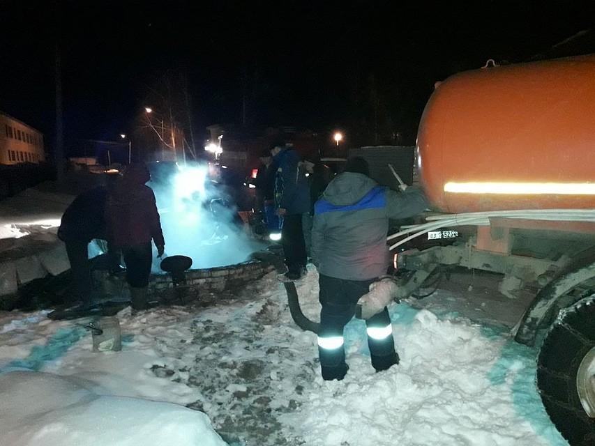 ВБашкирии из-за аварии надороге ночью 321 человек остались без тепла