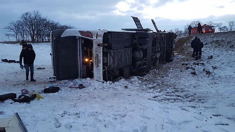 Еще  два человек могли умереть в трагедии  рейсового автобуса вРостовской области