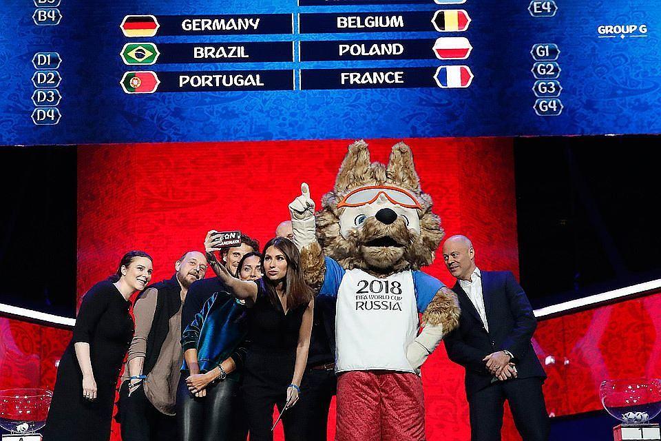 Церемония жеребьевки ЧМ-2018 в России