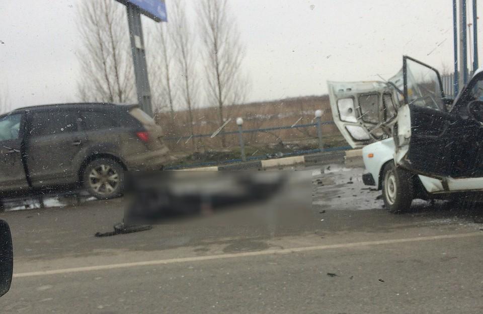 ВРостове-на-Дону автоледи на Кия устроила тройное ДТП