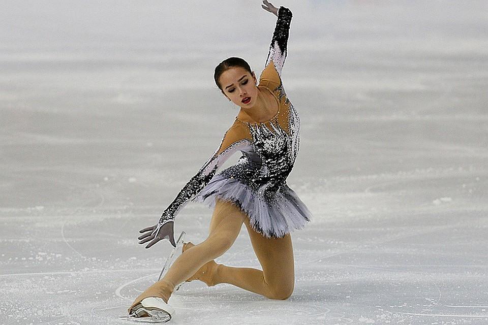 Россиянка Алина Загитова установила мировой рекорд вкороткой программе наОИ