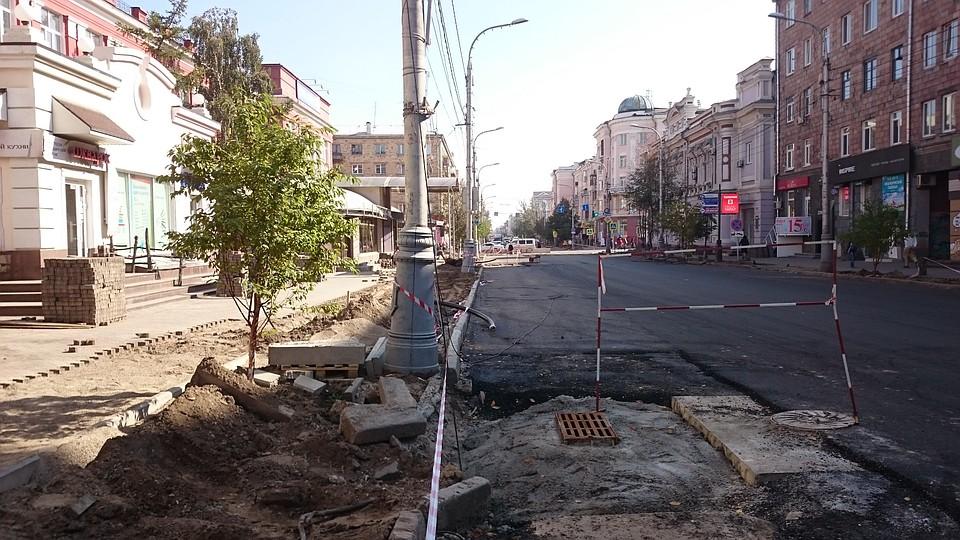 Торги поремонту улиц Красноярска остановили после жалоб предпринимателей