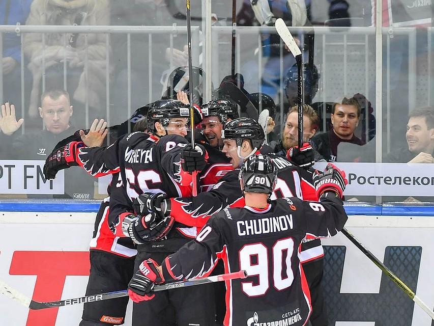 Поражение «Сибири» от«Трактора» вывело «Амур» вплей-офф КХЛ