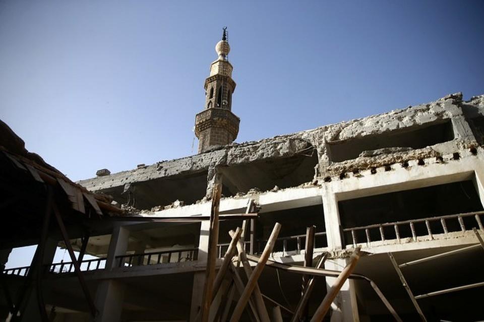 Проамериканские боевики 11 раз засутки обстреляли столицу Сирии— ООН неуказ