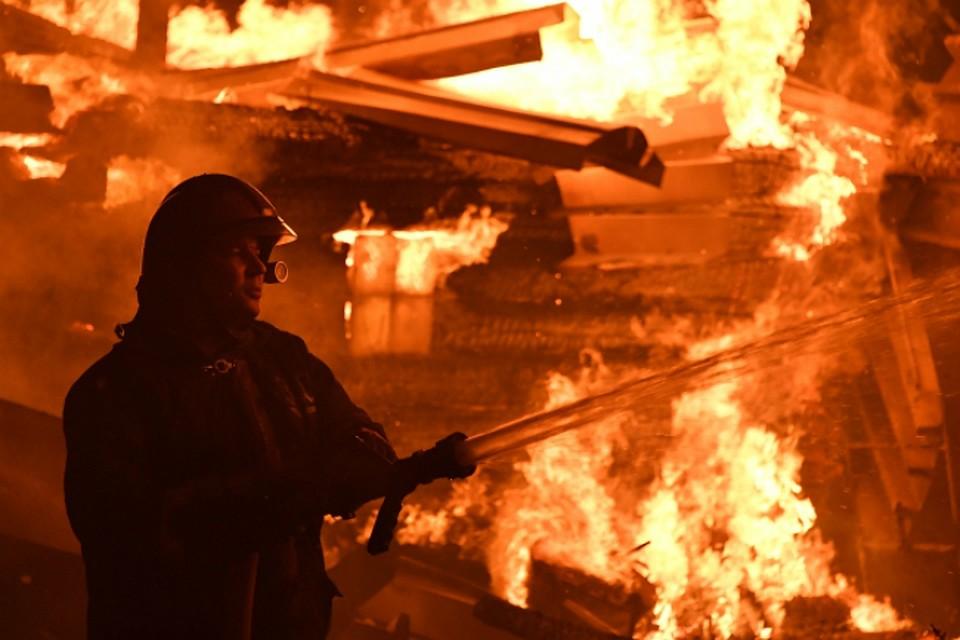 Престарелая комсомольчанка погибла впожаре в личном доме