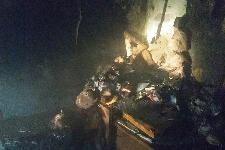 ВКазани напожаре погибли два человека