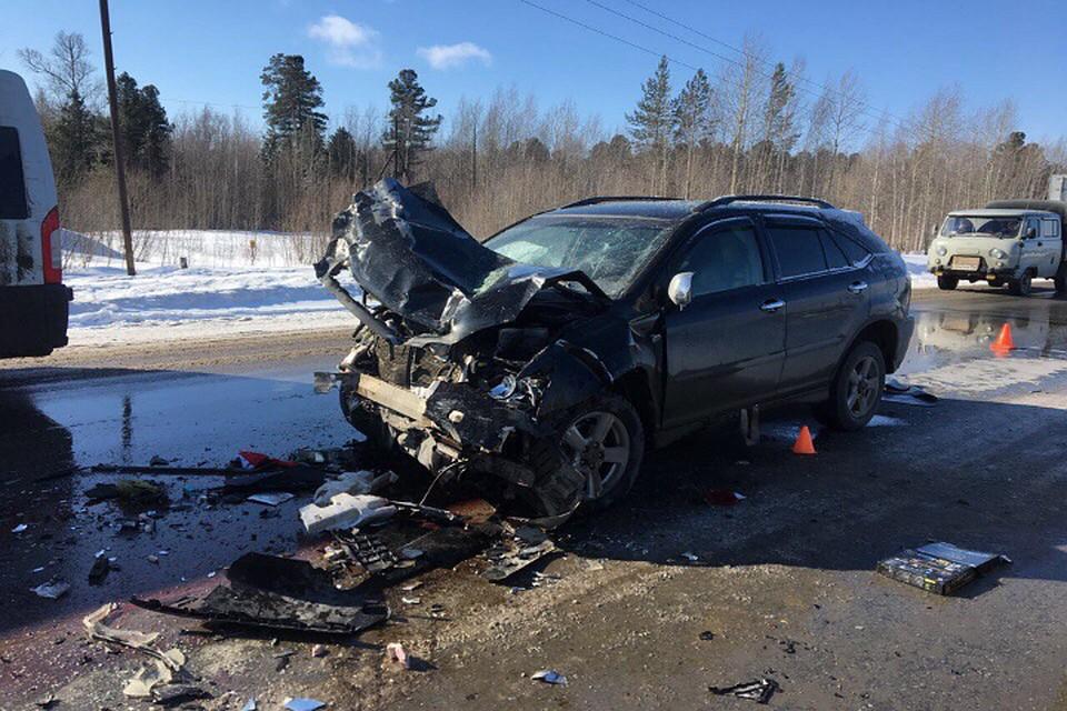 Натрассе Сургут— Нижневартовск разбился насмерть шофёр «Инфинити»