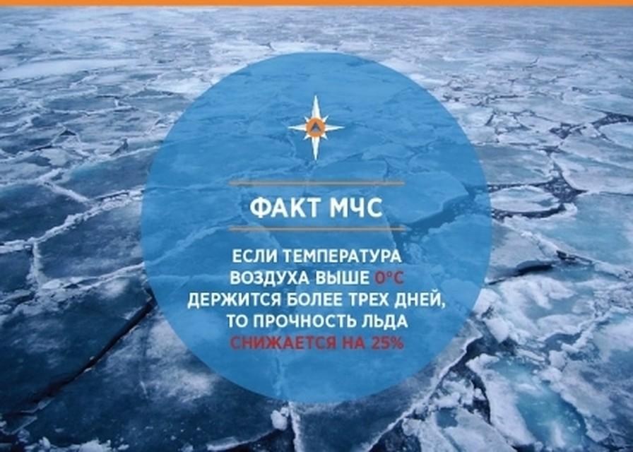 Cотрудники экстренных служб предупредили обопасном льде нареках иозёрах вВоронежской области