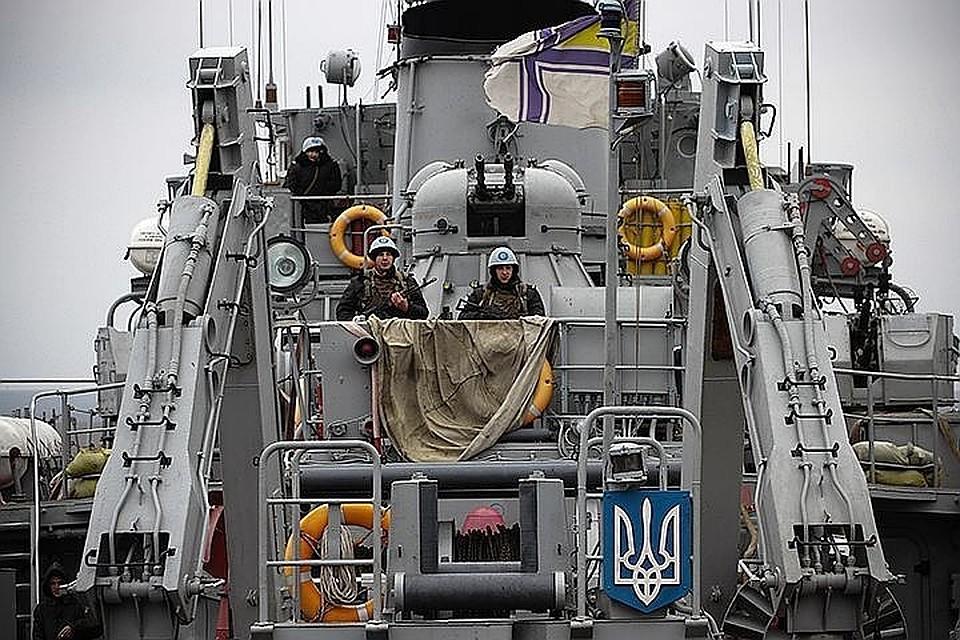 ВВМС Украины поведали опричинах сдачи флота вКрыму