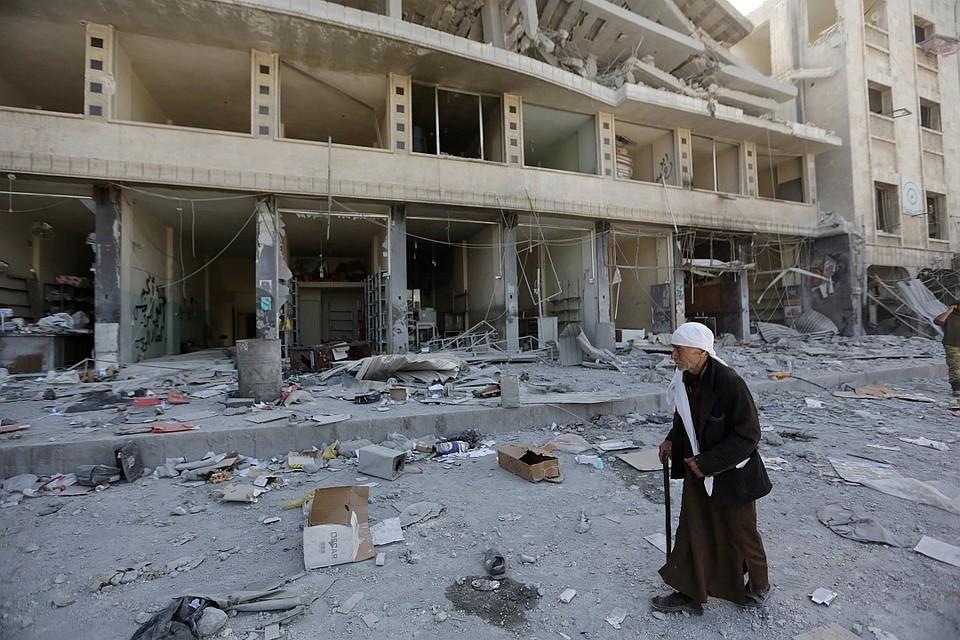 Боевики открыли огонь поспортивному клубу вДамаске