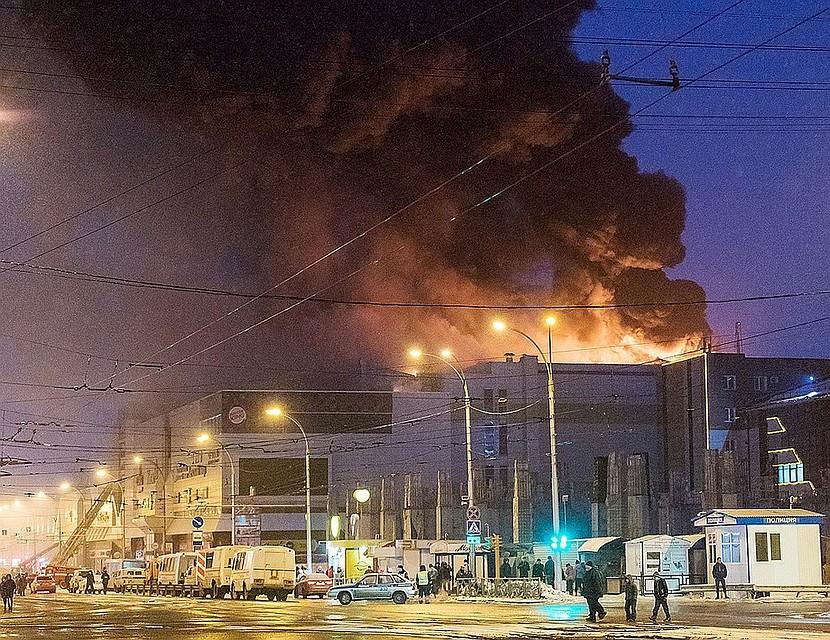 Места массового скопления людей проверят наДону из-за пожара вКемерово