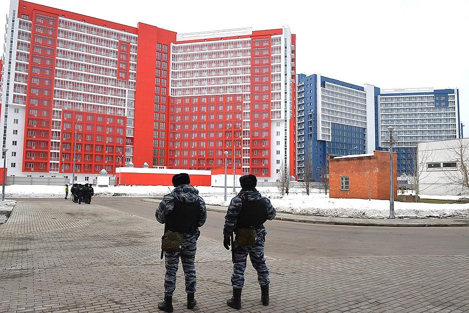 Общежития для сотрудников Росгвардии открыли насеверо-западе столицы