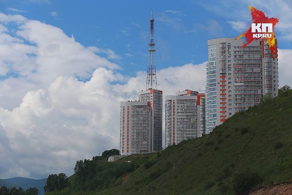 ВКрасноярске нечистоты отЖК «Орбита» стекали вЕнисей