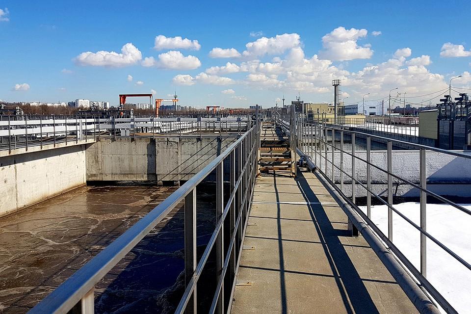 Собянин: Реконструкция Ново-Курьяновских очистных сооружений завершена