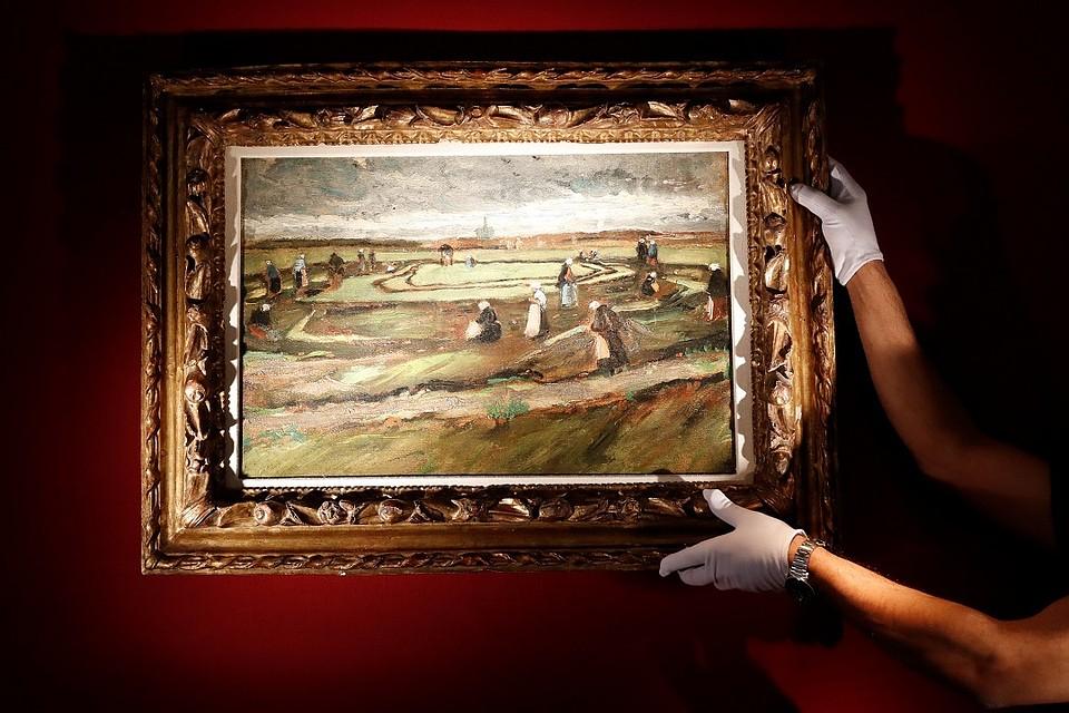 Картина Ван Гога выставлена нааукцион воФранции