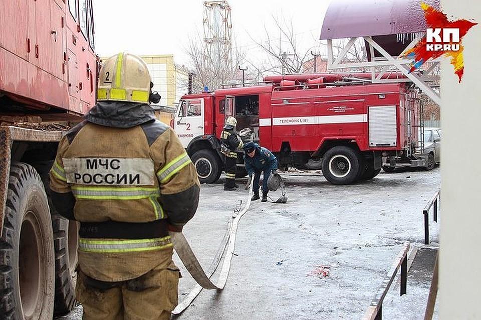 ВЗападной Двине напожаре умер мужчина