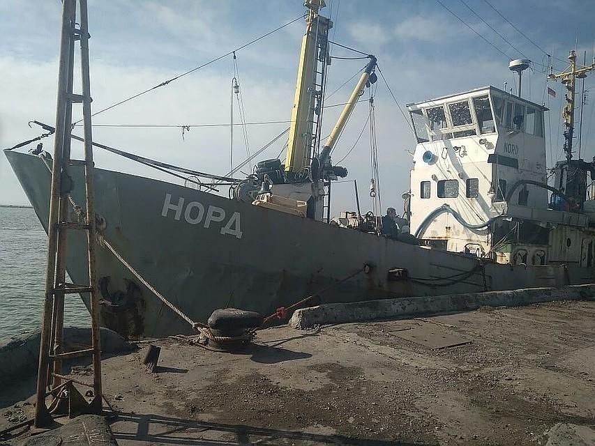 Арестованному капитану судна «Норд» визолятор передали одежду ипродукты
