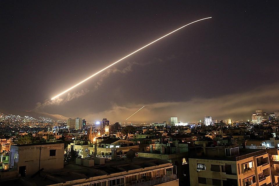 Ракетный удар поСирии: жертв нет, большинство ракет сбиты средствами ПВО