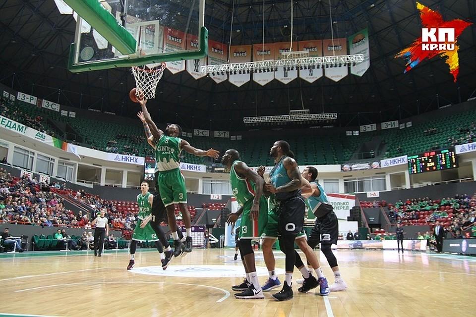 «Енисей» победил «Нижний Новгород» вматче Единой лиги ВТБ
