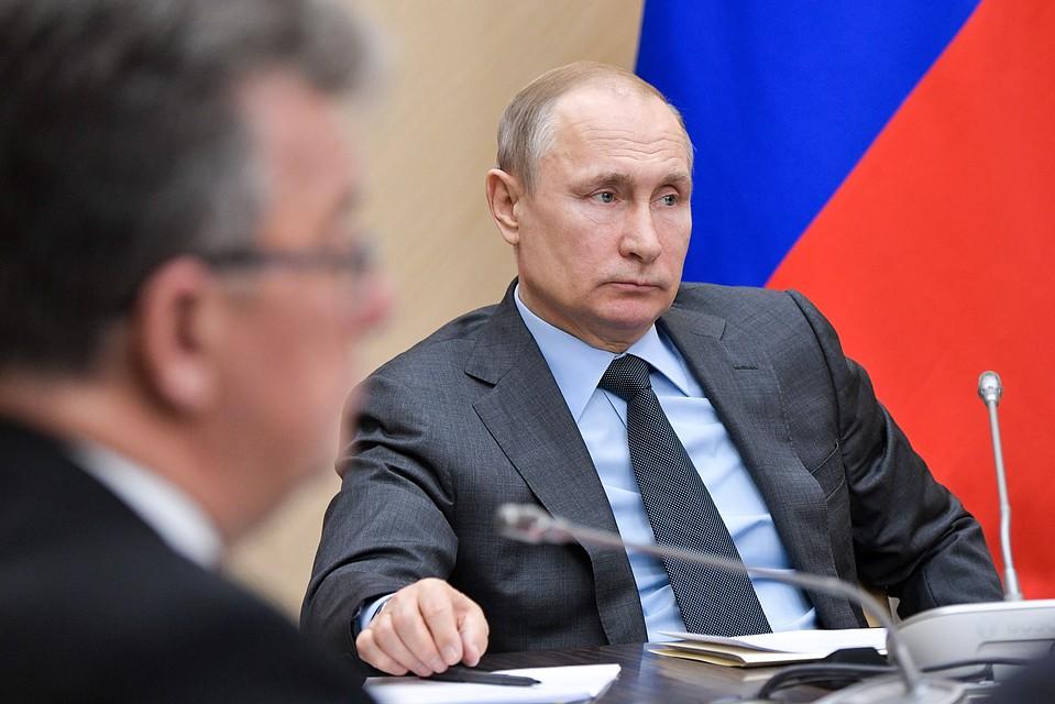 Путин назвал газомоторное горючее приоритетным для РФ