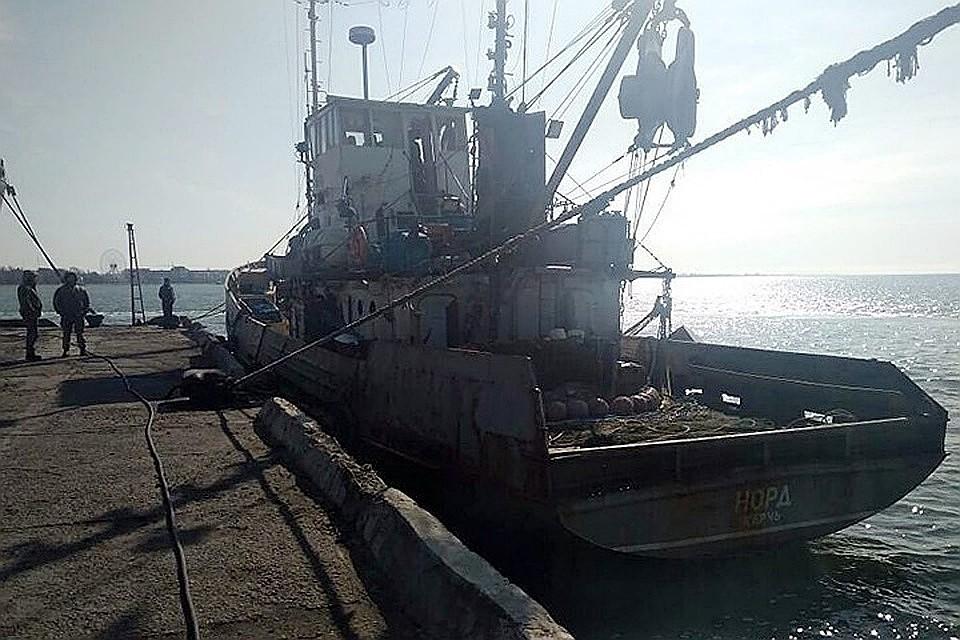 МИД РФ призвал Киев отпустить моряков «Норда» домой ипригрозил ответом
