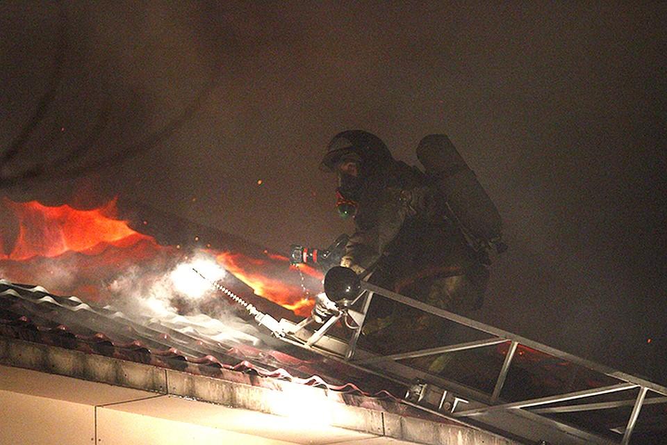 Вертолет Ми-8 вылетел для тушения крупного пожара вКрасноярском крае