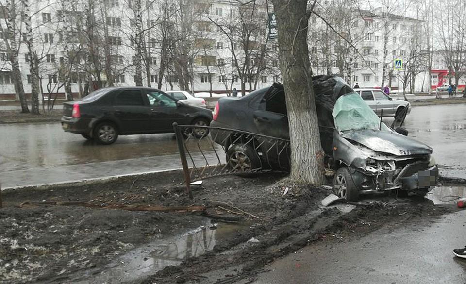 ВДТП вБашкирии с«КамАЗом» и«Ладой» двое погибли
