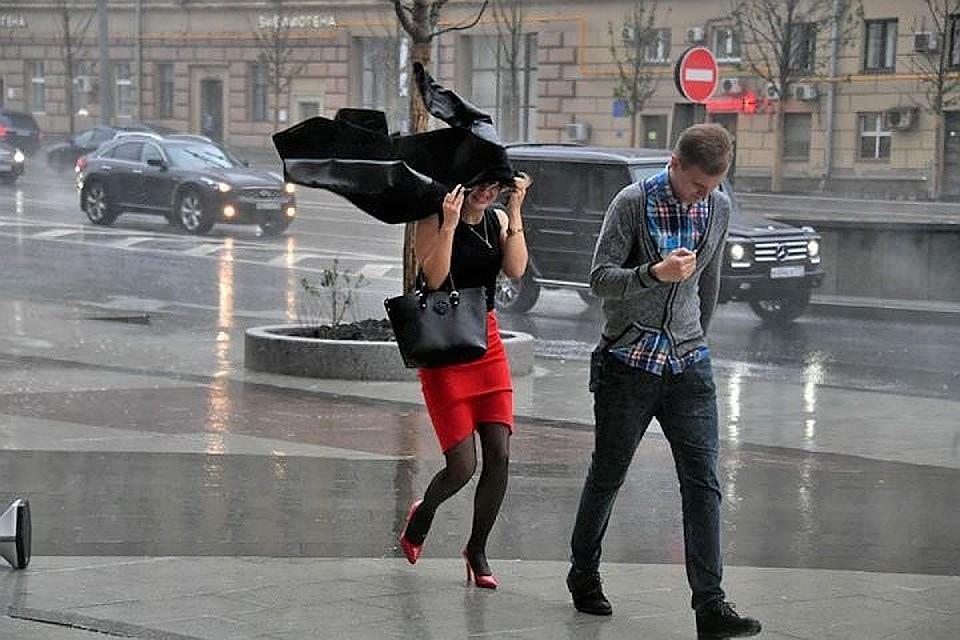 В столице России 30апреля объявили «желтый» уровень опасности из-за штормового ветра