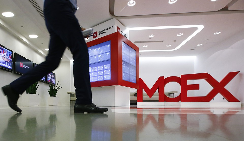 Курс доллара наМосковской бирже вырос, аевро упал
