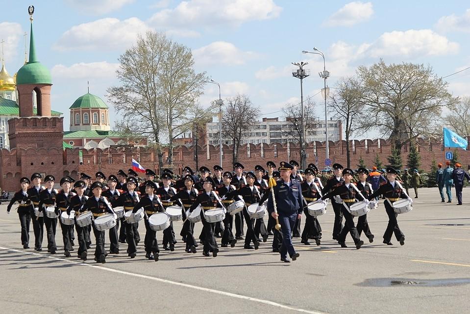 Поплощади Куйбышева вДень Победы пройдет 1831 человек