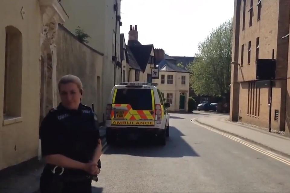 Стрельба вцентре Оксфорда: один человек ранен