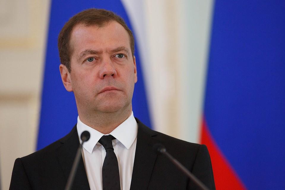 Путин— государственной думе: Медведев возглавлял руководство всложные годы