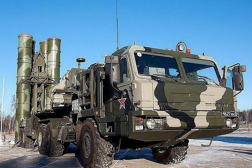 РФ  поставила в КНР  1-ый  полковой комплект С-400