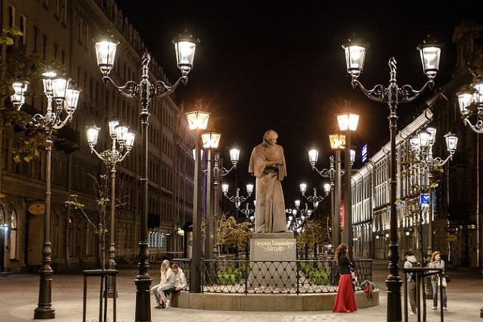 ВПетербурге возникла  карта смаршрутами для вечерних прогулок
