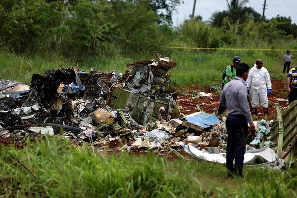 Появились детали крушения Boeing 737 наКубе