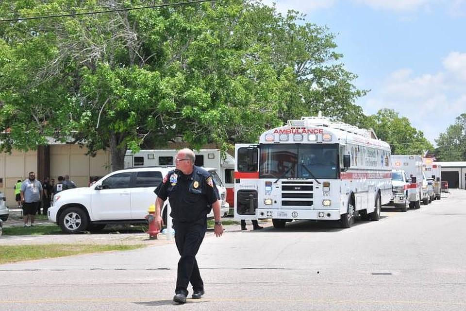 ВТехасе при взрыве нахимзаводе пострадали порядка 20 человек