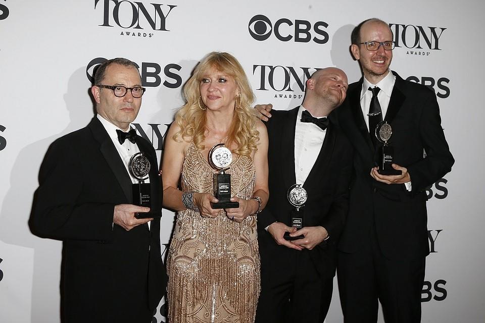 Создатели спектакля Гарри Поттер и проклятое дитя с премией Tony
