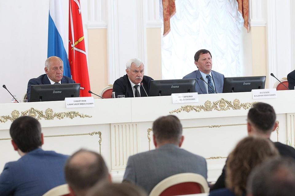 ВСмольном презентовали концепцию «Умный Санкт-Петербург»