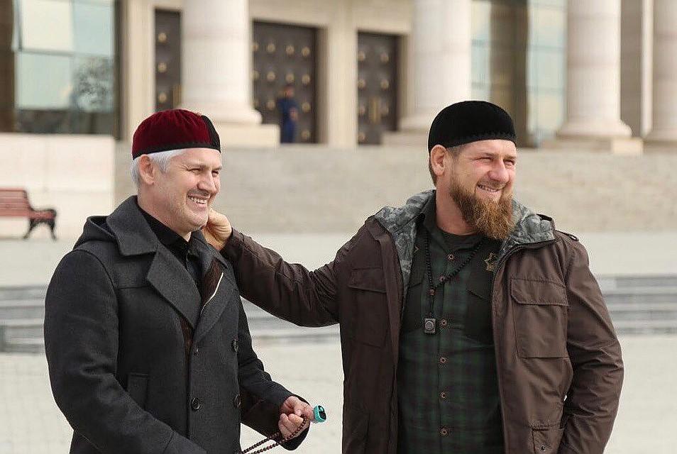 Муслим Хучиев и Рамзан Кадыров