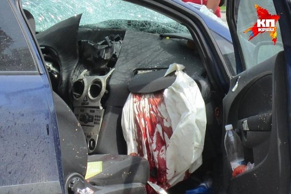 ВДТП вКозловском районе погибли двое детей иодин взрослый