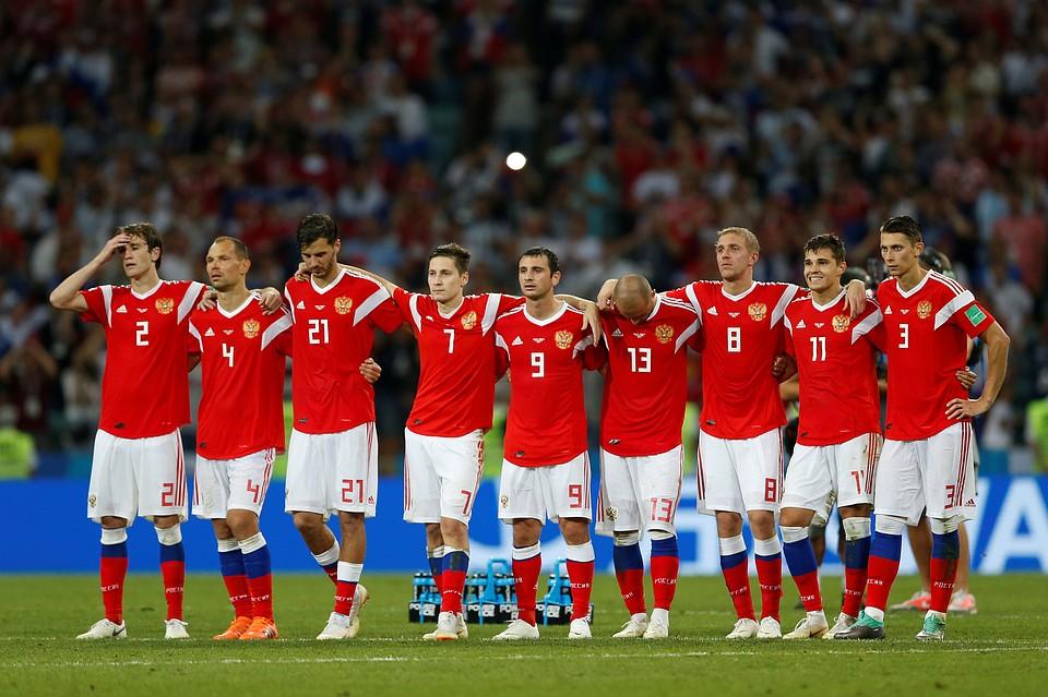 Игроки сборной РФ пофутболу встретятся сболельщиками в столице