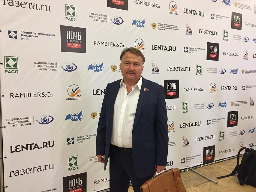 Виталий Рыбаков снялся свыборов губернатора Орловской области