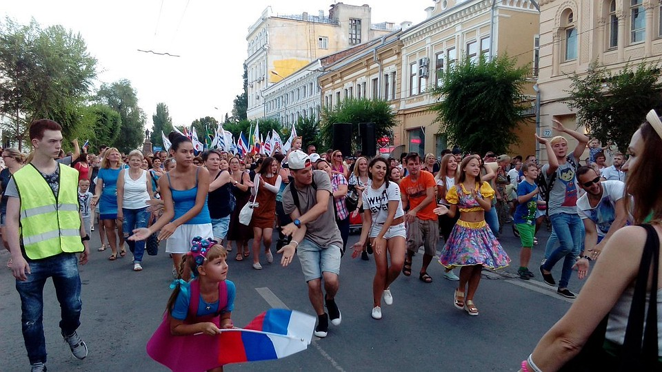 ВСамаре вчесть окончания ЧМ-2018 проведут танцевальный парад