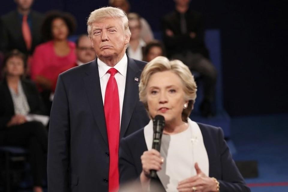 Трамп обнародовал интервью Клинтон сословами о«сильной России»
