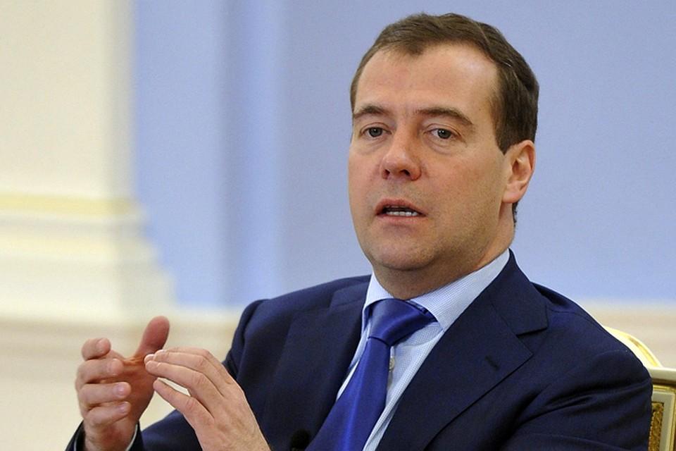 ВПетербург прибудет Д. Медведев, чтобы обсудить цифровое развитие