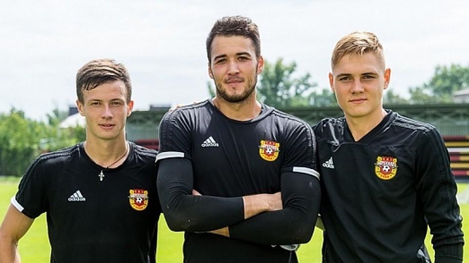Тульский «Арсенал» подписал 3-х молодых футболистов